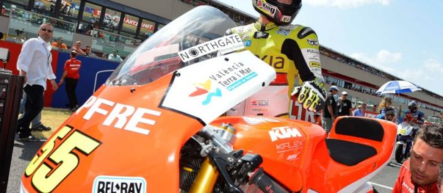 Faubel back in the top ten as Moncayo crashes out after collision with Salom