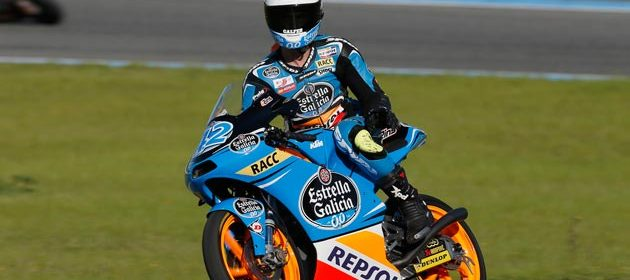 Rins & Marquez continue with progress at Jerez Moto3 test