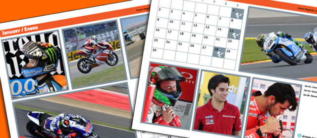 Downloads: The 2014 Vroom Magazine MotoGP Calendar