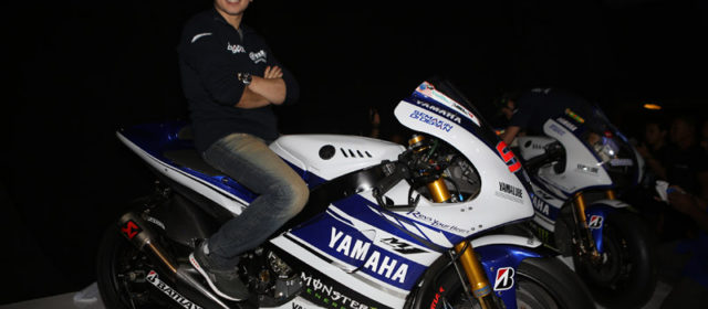 Jorge Lorenzo & Yamaha reveal the 2014 YZR-M1 in Indonesia