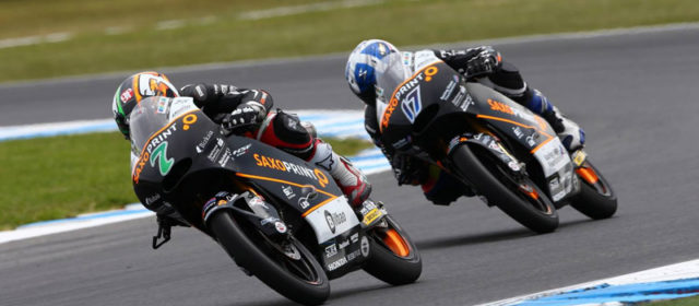 Efren Vazquez narrowly misses out on Phillip Island podium