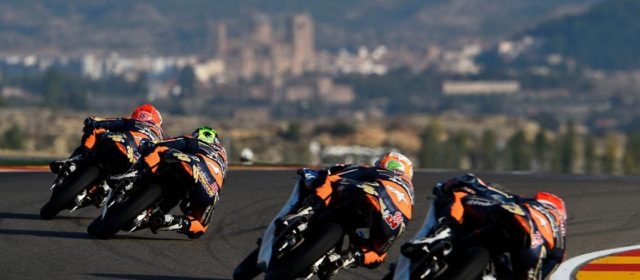 Red Bull Rookies head to Aragon for the toughest race of the year