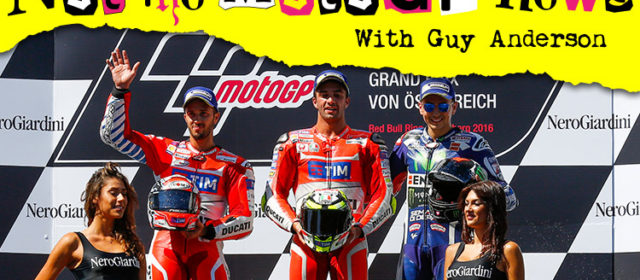 NOT the MotoGP News: The Ducati Empire Strikes Back… A Spielberg Production staring Andrea Iannone