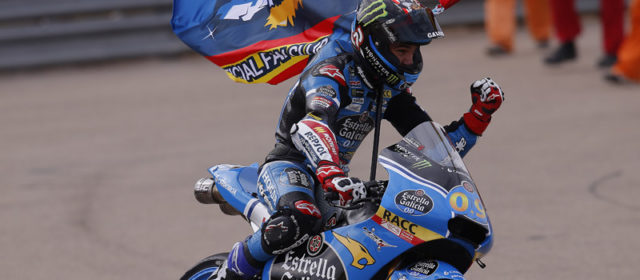 Jorge Navarro takes second win of the season at Aragon, Aron Canet finishes seventh