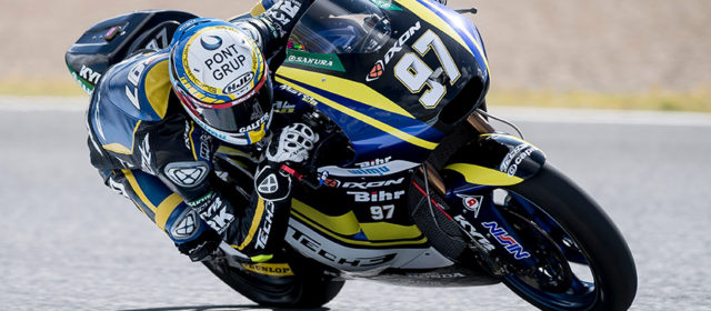 Xavi Vierge equals best qualifying result in Jerez