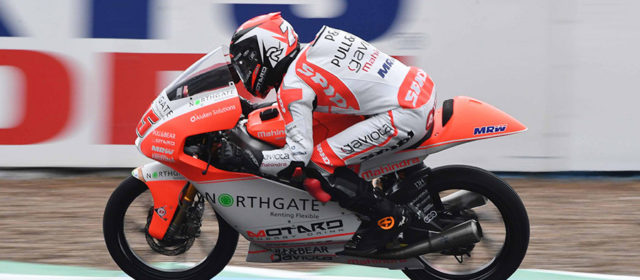 Technical problem hampers progress for Albert Arenas at Jerez on day one