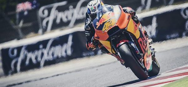 Pol Espargaro finished just outside of the points at Catalunya
