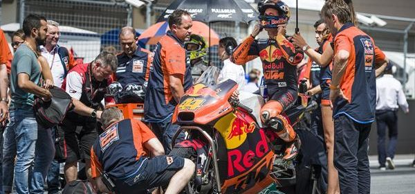 Pol Espargaro out of Austrian GP with technical fault