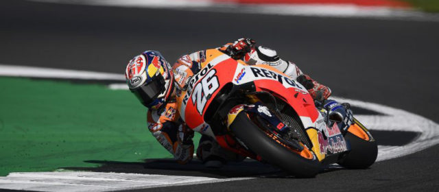 Seventh for Dani Pedrosa, DNF for Marc Marquez at Silverstone