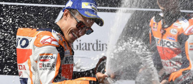Sixth double podium finish of the season for Marc Marquez & Dani Pedrosa at Red Bull Ring