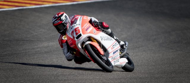 Albert Arenas finishes 27th in Aragon