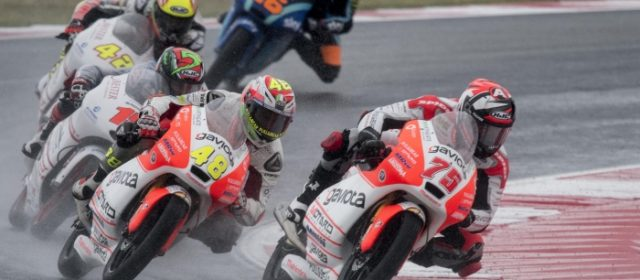 Eighth place for Albert Arenas in chaotic rain-hit Misano