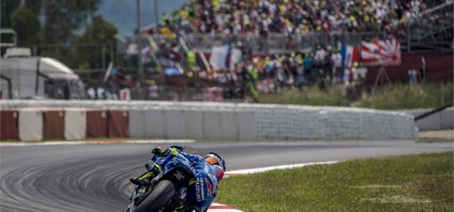 A tough race for Alex Rins in Catalunya