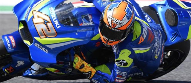 10th place start for Alex Rins in Italy
