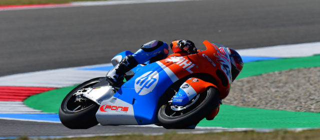 Augusto Fernández to start the Dutch GP from 16th position
