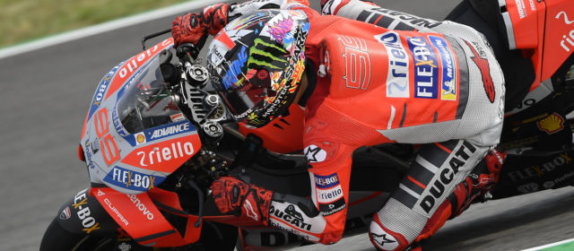 Jorge Lorenzo tops the timesheets in Catalan GP free practice