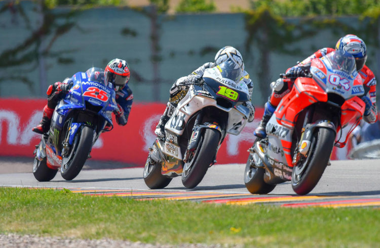 Alvaro Bautista takes excellent fifth place in Germany