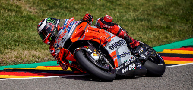 Front row start for Jorge Lorenzo in Germany
