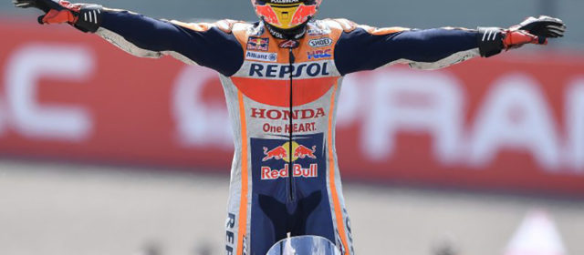Marc Marquez once again rules at the 'Ring, Dani Pedrosa places eighth
