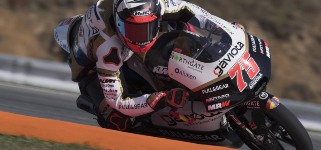 Fifth row start for Albert Arenas at Brno