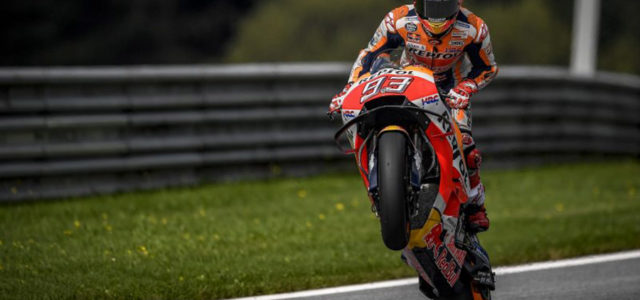 Marc Marquez increases his points lead, taking hard-fought 2nd in Austria; Dani Pedrosa takes 7th place