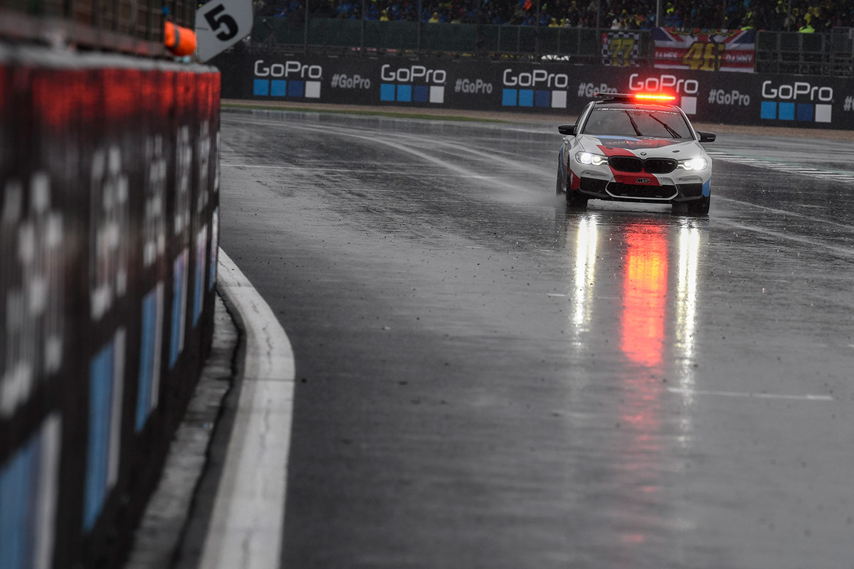 GoPro British Grand Prix - Racing cancelled at Silverstone