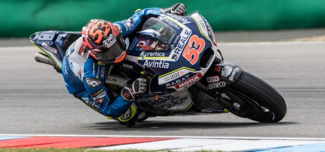 Tito Rabat forced to retire from Brno race